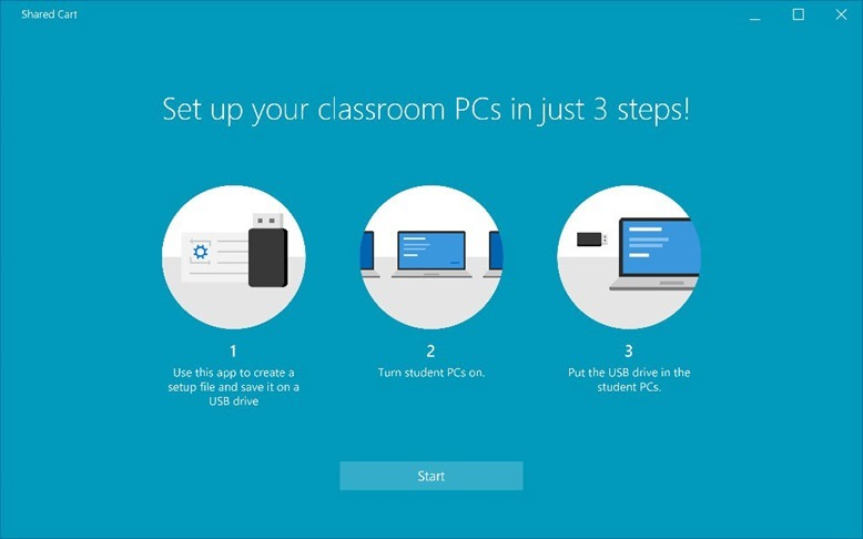 Set up School PCs