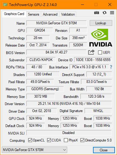GPU-Z 2.14.0