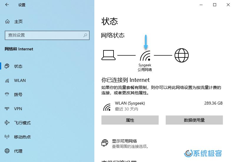 网络和 Internet